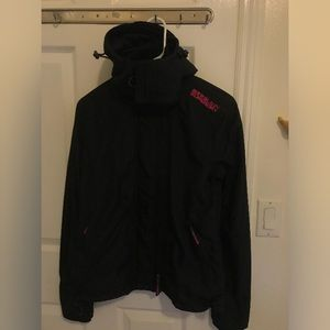 Superdry Black The Windcheater